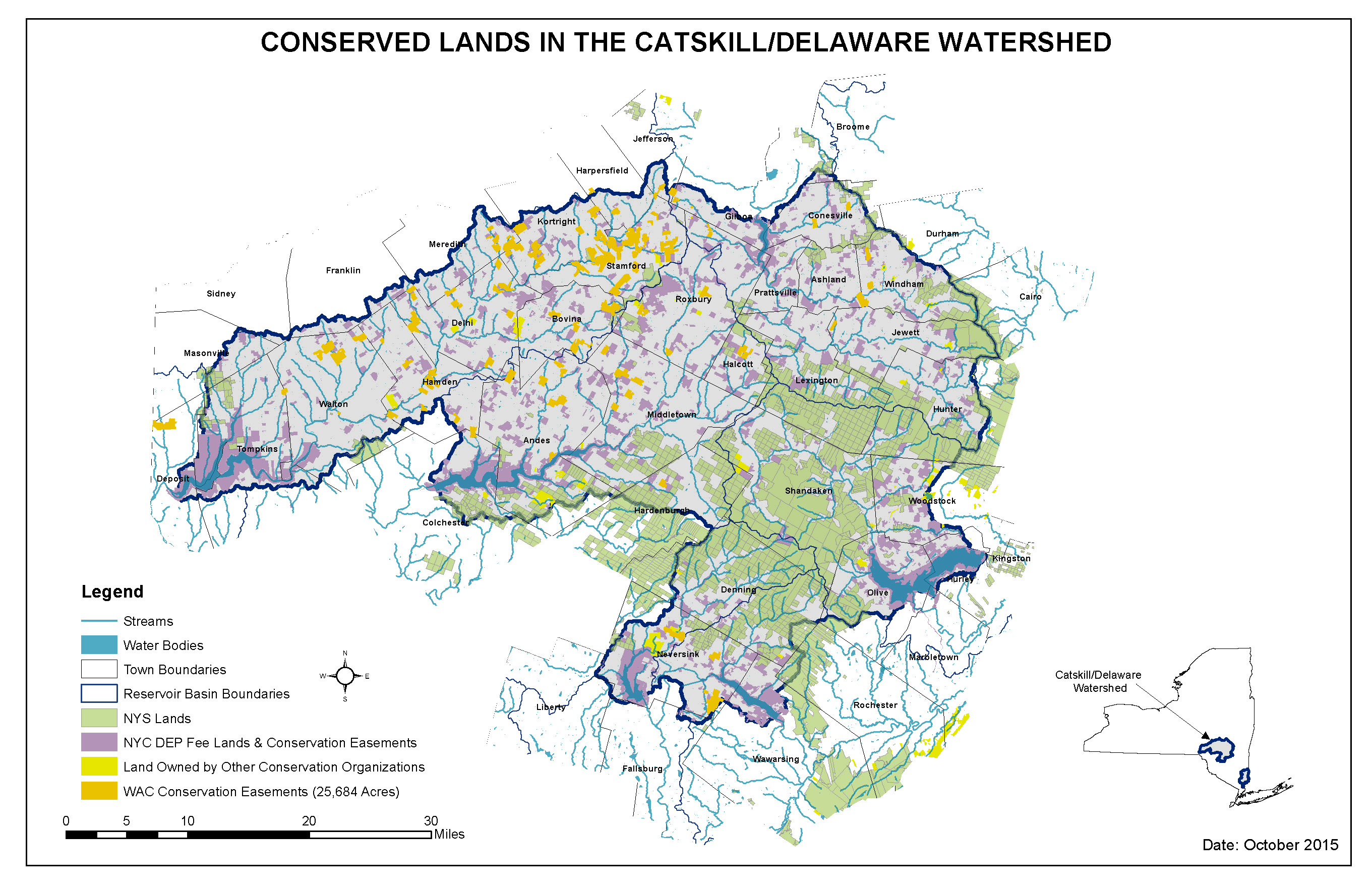 Resources  Downloads NYC Watershed - Nyc map by area