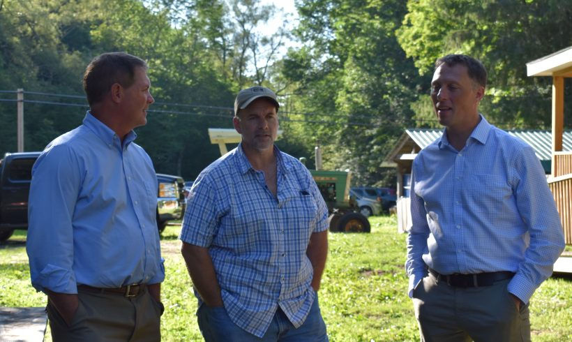 NFU Advisor from SE England tours NYC Watershed Farms