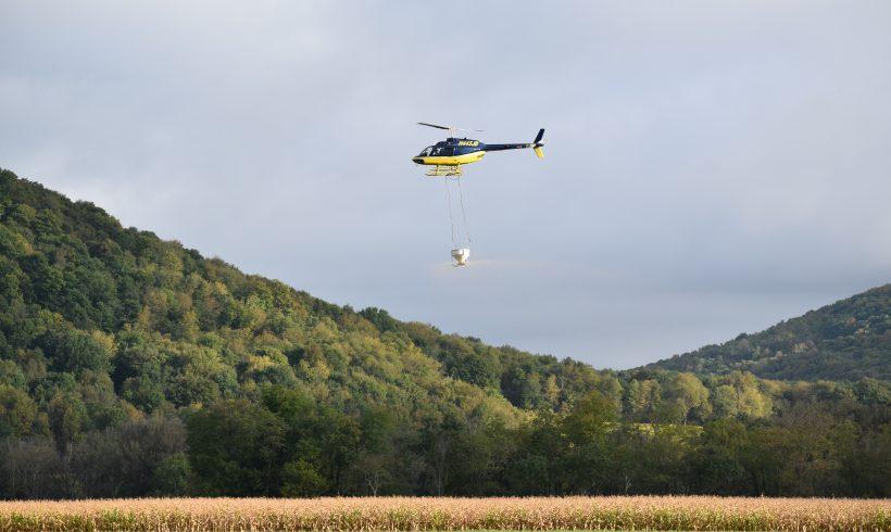 Aerial Cover Crop Seeding 2019