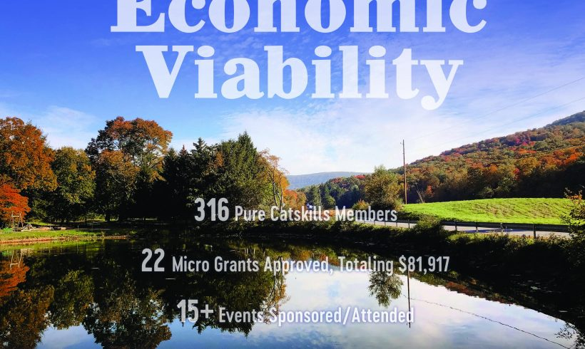 Economic Viability: Enhancing the Profitability and Sustainability of Working Landscapes