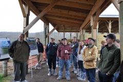 2016 Farm tour group at Windswept Acres