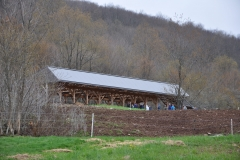 The Covered barnyard BMP at Wildflower Farm