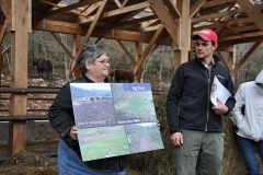 Planner Gideon Frisbee and Tech Paula O'Brien