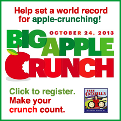 Register for the Big Apple Crunch, October 24