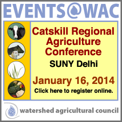 Catskill Regional Agriculture Conference January 16