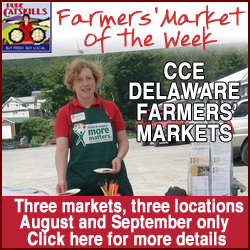 Pure Catskills Farmers' Market of the Week: CCE Delaware