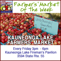 Pure Catskills Farmers' Market of the Week: Kauneonga Lake