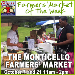 Farmers' Market of the Week - Monticello