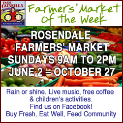 Pure Catskills Farmers' Market of the Week: Rosendale