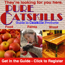 Get in the Guide 2014 - Be a Pure Catskills Member!