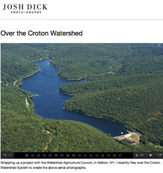 Josh Dick - Over the Croton Watershed
